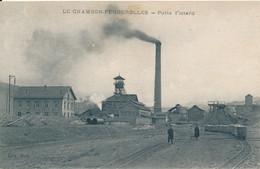 Chambon Feugerolles (42 Loire) Puits Flotard - Mines Wagons - édit. Darves Blanc - Sonstige Gemeinden