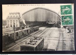 BORDEAUX - Le Hall De La Gare Du Midi - R.D - Circulée - Bordeaux