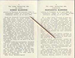 Robert-Margareta Bluekens, Turnhout, Damascus, 1965,Verongelukt Met Vliegtuig, Vliegtuigongeval - Devotion Images