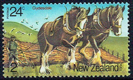 New Zealand 1984 Health Clydesdale Horses Len Jury H115 M - Unused Stamps
