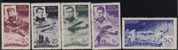 USSR/Russia 1935 Tscheljuskin MNH ** MI: 499-508 - Ungebraucht