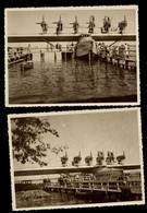 AK/CP 2 X Foto  Flugboot Dornier  DO X    Ungel/uncirc. Ca 1930   Erhaltung/Cond. 1-  Nr. 01339 - 1919-1938: Between Wars