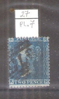 GB -  Yv.27 - Planche 7 - (à Voir) - Used Stamps