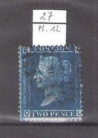 GB -  Yv.27 - Planche 12 - (à Voir) - Used Stamps