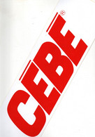 Autocollant   - Cébé-  ( Lunettes De Ski ) - Stickers