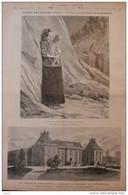 Le Château De Pont-sur-Seine, Propriété Du Président De Le République - Page Original 1894 - Documentos Históricos
