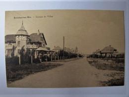 BELGIQUE - FLANDRE OCCIDENTALE - BREDENE-SUR-MER - Groupe De Villas - 1931 - Bredene