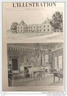 Le Château De Pont-sur-Seine - Propriété De La Famille Casimir-Perier - Page Original - 1894 - 1 - Documentos Históricos