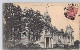 CPA ITALIE ITALIA PIEMONTE TURIN 1911 PADIGLIONE FESTEGGIAMENTI DOS DIVISE ECRIT - Ausstellungen