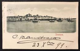 Siracusa  Panorama VIAGGIATA 1899 COD.C.3350 - Siracusa