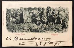 Siracusa  Latomia Casale VIAGGIATA 1899 COD.C.3351 - Siracusa