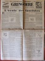 Journal Gringoire N°548 (11 Mai 1939) L'école Des Fascistes Béraud -Cas Litvinov - Brasiillach- Brion - La Rochefoucauld - 1950 - Heute