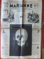 Journal Marianne N°313 (19 Octobre 1938) Culture Des Embryons - Meurtres Rituels Sorciers Panthères Africains - 1950 - Heute