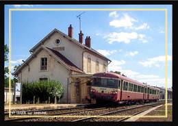 71  ST  LEGER  Sur  DHEUNE  -  La  Gare - Altri Comuni