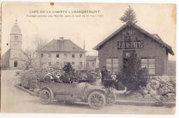 "Piq-  25 Doubs   Cpa  CHARQUEMONT "" CAFE"" - Otros Municipios"