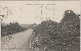 LENS (62 - Pas De Calais) Route D'Arras - Lens