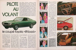 Article TOYOTA CELICA LIFT-BACK COUPE 1976 PILB   P1052276 - Non Classificati