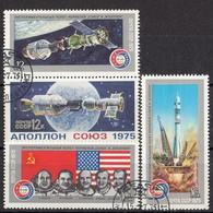 USSR 4371-4374,used - Gebruikt