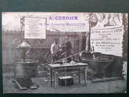37 ,tours ,boulangerie , Pétrin Mécanique Lafon ,mécanicien Frébourg ,lillebonne ......peu Courante - Tours