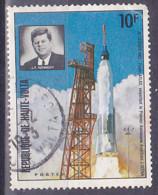 Upper Volta - Obervolta - 1973 - Poste Aérienne. Fusée Kennedy- Y&T 289 - MI - SC - Oblitérés - Used - Abgesagt - Opper-Volta (1958-1984)