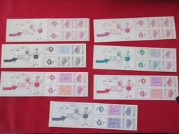 Belgium C11 (2x) C12 C13 C14 & C15 See Scan (40) - Booklets 1953-....