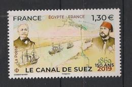 France - 2019 - N°Yv. 5347 - Canal De Suez - Neuf Luxe ** / MNH / Postfrisch - Neufs