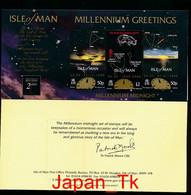 ISLE OF MAN  Mi. Nr. 846 Jahrtausendwende Sternbilder - Faltkarte - MNH - Isle Of Man