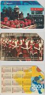 3 USATE   £. 5.000  -  31.12.2001  QUESTE  DA  FOTO - Public Practical Advertising