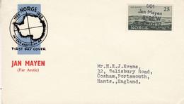 Norway Jan Mayen Island 1957 Cover Ca Jan Mayen (53214) - Storia Postale