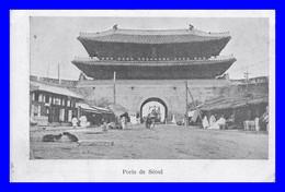 Porte De Séoul   ( Scan Recto Et Verso) - Corea Del Sud