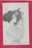 KIRCHNER, RAPHAEL  ; Nurnberg : Théo .Stroefer's Kunstverlag - Série 71  N° 1 Geschützt - Kirchner, Raphael