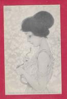 KIRCHNER, RAPHAEL  ; Nurnberg : Théo .Stroefer's Kunstverlag - Série 71  N° 4 Ges Geschützt - Kirchner, Raphael