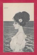 KIRCHNER, RAPHAEL  ; Nurnberg : Théo .Stroefer's Kunstverlag - Série 71  N° 6 Ges Geschützt - Kirchner, Raphael