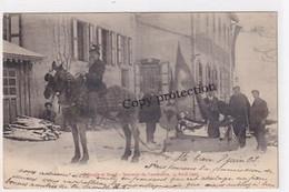 St. Croix - Triangle Et Stand - Oblit. Régional Yverdon-St.Croix - 1903 - Rare Carte        (P-341-10227) - VD Vaud