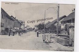 Kloten - Dorfstrasse - Animiert - Feldpost      (P-341-10227) - ZH Zurich
