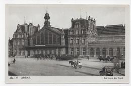 ARRAS - N° 126 - LA GARE DU NORD - CPA NON VOYAGEE - Arras