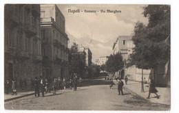 Cartolina - Postcard | Viaggiata - Sent | Napoli - Vomero - Via Morghen - Napoli (Naples)