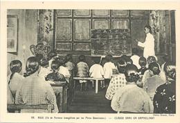 CPA Formose Ile évangélisée Par Les Pères Dominicains Classe Dans Un Orphelinat - Formosa