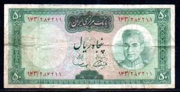 347-Iran 50 Rials 1969-71 Sig.11 - Irán