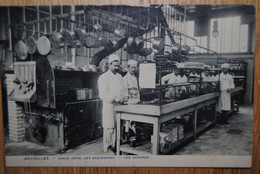 5258/ BRUXELLES-Grand Hôtel Des Boulevards-Les Cuisines (1908) - Ristoranti