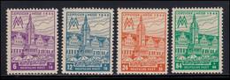162-165AX Leipziger Messe, Typ AX, Satz ** - Soviet Zone