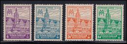 162-165AY Leipziger Messe, Typ AY, Satz ** - Soviet Zone