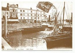 P6267/68 Honfleur - Les Bateaux De Plaisance Dans Le Port - Barche Boats Bateaux - Riproduzione Reproduction - Honfleur