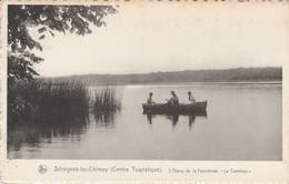 """Séloignes Lez Chimay ( Centre Touristique ), L'Etang De La Fourchinée  """" Le Canotage """" ,( L'Emmaus ) - Chimay"""
