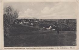 AK Vom östlichen Kriegsschauplatz: Kandau Kurländische Schweiz, Feldpost 25.3.18 - Ohne Zuordnung