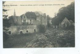 Yves Gomezée Ruines Du Château Après Le Passage Des Allemands - Walcourt
