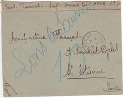 1916 Lettre En Franchise Militaire Trésor Et Postes Secteur Postal 508 A  = 57e Division Infanterie Armée D'Orient - Guerre De 1914-18