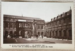 75 Paris Ecole Des Beaux Arts 1 ère Cour Arc Du Chateau Gaillon Palais Des études - Educazione, Scuole E Università