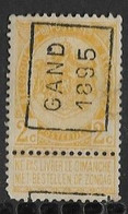 Gent 1895   Nr. 31A Hoekje Linksonder - Roller Precancels 1894-99