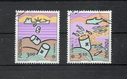 Foroyar - 1986 - Europa CEPT - Protezione Della Natura E Dell'Ambiente - 2 Valori - Usati - (FDC30882) - Lokale Uitgaven